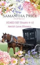 Amish Love Blooms Boxed Set Books 4 - 6 - Amish Romance ebook by Samantha Price