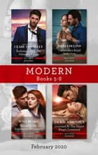 Modern Box Set 5-8 February 2020/Redemption of the Untamed Italian/Cinderella's Royal Seduction/Bound by My Scandalous Pregnancy/C ebook by Maya Blake, Dani Collins, Clare Connelly,...