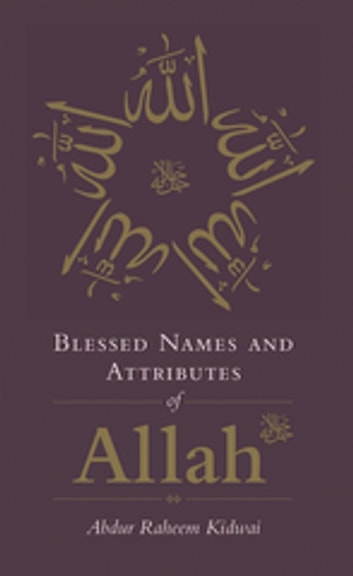 Blessed Names and Attributes of Allah ebook by Abdur Raheem Kidwai