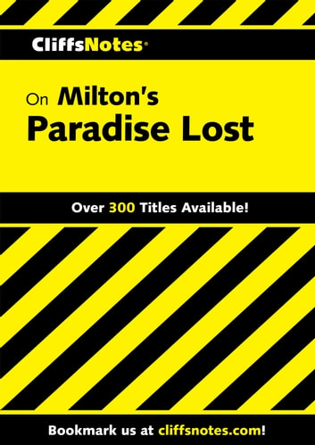 CliffsNotes on Milton's Paradise Lost ebook by Bob Linn