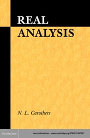 Real Analysis ebook by N. L. Carothers