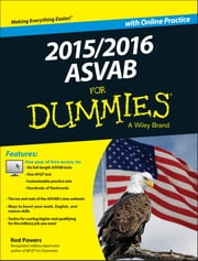 2015 / 2016 ASVAB For Dummies with Online Practice ebook by Rod Powers