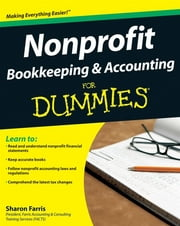 Nonprofit Bookkeeping and Accounting For Dummies ebook by Kobo.Web.Store.Products.Fields.ContributorFieldViewModel