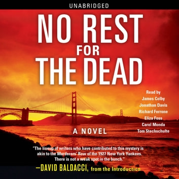No Rest for the Dead audiobook by David Baldacci,R.L. Stine,Lisa Scottoline,Sandra Brown