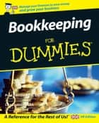 Bookkeeping For Dummies ebook by Paul Barrow,Lisa Epstein
