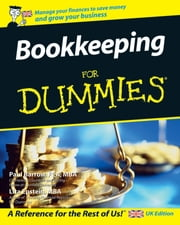Bookkeeping For Dummies ebook by Paul Barrow, Lisa Epstein
