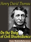 On The Duty Of Civil Disobedience (Mobi Classics)