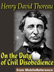 On The Duty Of Civil Disobedience (Mobi Classics) ebook by Henry David Thoreau