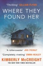 Where They Found Her - A riveting domestic thriller of motherhood, marriage, class distinctions and betrayal ebook by Kimberly McCreight