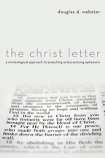 PDF The Christ Letter: A Christological Approach to