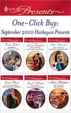 One-Click Buy: September 2010 Harlequin Presents ebook by Penny Jordan,Sharon Kendrick,Helen Bianchin,Emma Darcy,Sarah Morgan,Anne McAllister