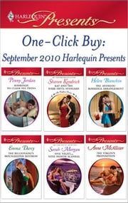 One-Click Buy: September 2010 Harlequin Presents - Marriage: To Claim His Twins\Kat and the Dare-Devil Spaniard\The Andreou Marriage Arrangement\The Billionaire's Housekeeper Mistress\One Night...Nine-Month Scandal\The Virgin's Proposition ebook by Penny Jordan,Sharon Kendrick,Helen Bianchin,Emma Darcy,Sarah Morgan,Anne McAllister