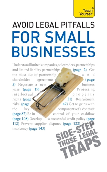 Avoid Legal Pitfalls for Small Businesses - An essential reference guide to law and litigation for SMEs eBook by Bevans Solicitors