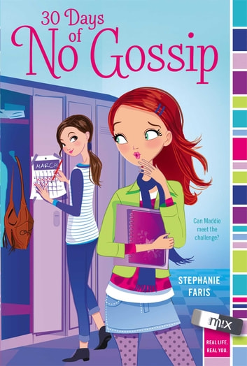 30 Days Of No Gossip Ebook By Stephanie Faris 9781442482838