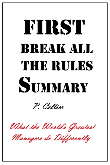 First break all the rules summary ebook by p cellier 9781310955754 first break all the rules summary ebook by p cellier fandeluxe Choice Image