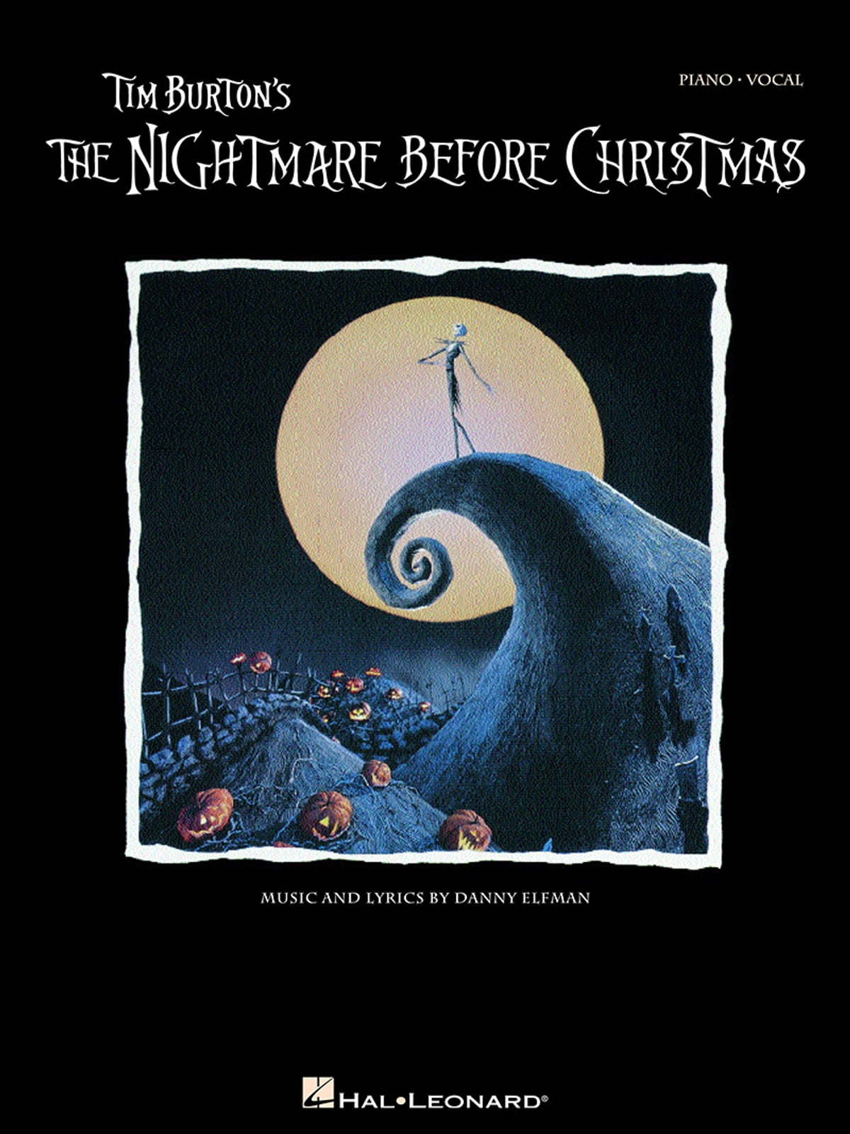 Tim Burton\'s The Nightmare Before Christmas (Songbook) eBook by ...