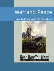 War And Peace ebook by Leo Nikolayevich Tolstoy