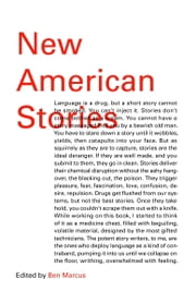 New American Stories eBook by Ben Marcus