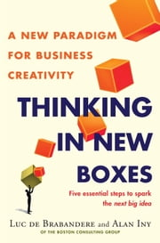 Thinking in New Boxes - A New Paradigm for Business Creativity ebook by Alan Iny,Luc De Brabandere