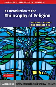 An Introduction to the Philosophy of Religion ebook by Murray,Michael J.