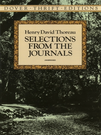 Selections from the Journals ebook by Henry David Thoreau