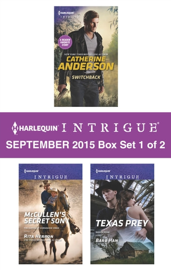 Harlequin Intrigue September 2015 - Box Set 1 of 2 - An Anthology ekitaplar by Catherine Anderson,Rita Herron,Barb Han