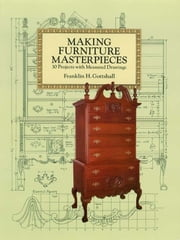 Making Furniture Masterpieces: 3 Projects with Measured Drawings ebook by Franklin H. Gottshall