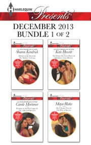 Harlequin Presents December 2013 - Bundle 1 of 2 - Defiant in the Desert\Rumors on the Red Carpet\The Prince She Never Knew\His Ultimate Prize ebook by Sharon Kendrick,Carole Mortimer,Kate Hewitt,Maya Blake