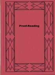 Proof-Reading ebook by F. Horace Teall