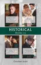 Historical Box Set 1-4 Oct 2020/The Confessions of the Duke of Newlyn/Wedded for His Secret Child/A Mistletoe Vow to Lord Lovell/How t ebook by Bronwyn Scott, Madeline Martin, Joanna Johnson,...