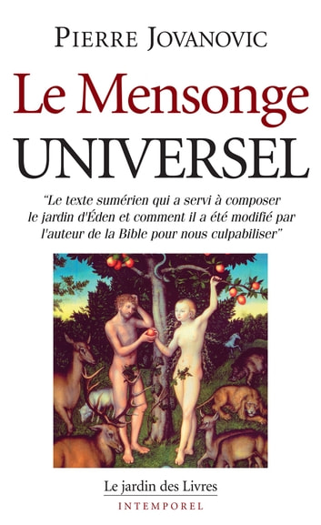 Le Mensonge Universel ebook by Pierre Jovanovic