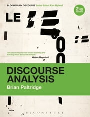 Discourse Analysis - An Introduction ebook by Brian Paltridge