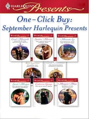 One-Click Buy: September Harlequin Presents - An Anthology 電子書籍 by Carol Marinelli, Sandra Marton, Miranda Lee,...