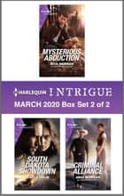 Harlequin Intrigue March 2020 - Box Set 2 of 2 ebook by Rita Herron, Nicole Helm, Angi Morgan