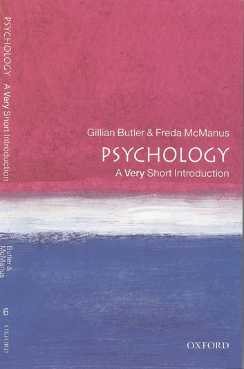 Psychology: A Very Short Introduction ebook by Gillian Butler,Freda McManus
