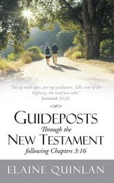 "Guideposts Through the New Testament following Chapters 3:16 - ""Set up road signs, put up guideposts. Take note of the highway, the road you take"" Jeremiah 31:21 ebook by Elaine Quinlan"