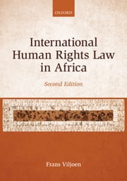 International Human Rights Law in Africa ebook by Frans Viljoen
