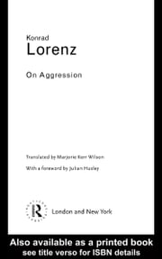 On Aggression ebook by Lorenz, Konrad