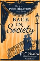 Back in Society ebook by M. C. Beaton