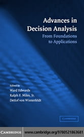 Advances in Decision Analysis ebook by Edwards,Ward