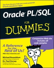 Oracle PL / SQL For Dummies ebook by Michael Rosenblum,Paul Dorsey