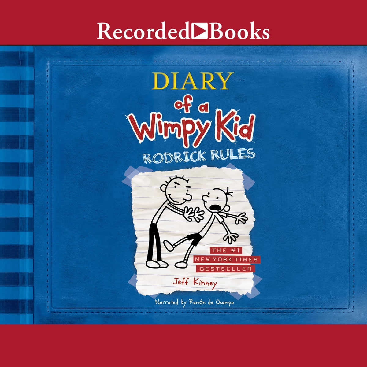 Diary Of A Wimpy Kid Rodrick Rules Audiobook By Jeff Kinney 9781440708862 Rakuten Kobo