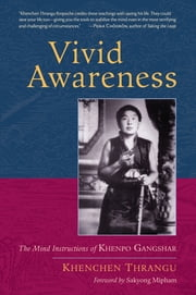 Vivid Awareness - The Mind Instructions of Khenpo Gangshar ebook by Khenchen Thrangu Rinpoche,Sakyong Mipham