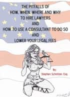 The Pitfalls of How, When, Where and Why To Hire Lawyers And How to Use A Consultant To Do So And Lower Your Legal Fees ebook by Stephen Schnitzer, Esq.