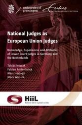 National judges as European union judges - knowledge, experience and attitudes of lower court judges in Germany and the Netherlands ebook by Tobias Nowak,Fabian Amtenbrink,Marc Hertogh,Mark Wissink