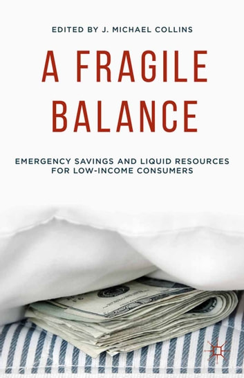 A Fragile Balance - Emergency Savings and Liquid Resources for Low-Income Consumers ebook by