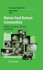 Marine Hard Bottom Communities ebook by Martin Wahl