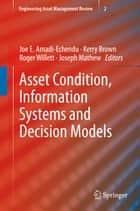 Asset Condition, Information Systems and Decision Models ebook by Joe Amadi-Echendu,Kerry Brown,Roger Willett,Joseph Mathew