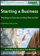 Starting a Business? The Keys to Success or How Not to Fail ebook by K. MacKillop