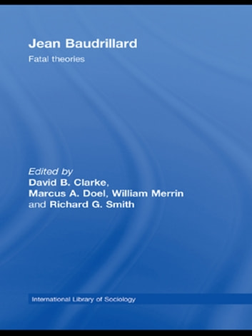 Jean Baudrillard - Fatal Theories ebook by